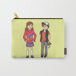 The Mystery Twins Carry-All Pouch