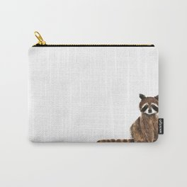 baby raccoon watercolor Carry-All Pouch