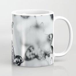 B&W Butterfly Coffee Mug