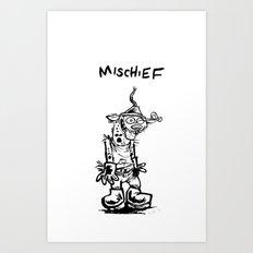 Mischief Art Print