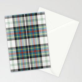 Beautiful multicolors tartan pattern Stationery Cards