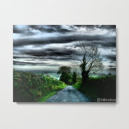 Irish Skies Metal Print