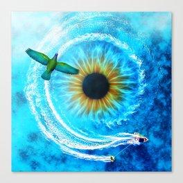 Eye of the Sea by GEN Z Canvas Print