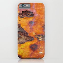 Rusted Iron Bridge rustic decor iPhone Case