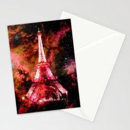 Paris Dreams Pink Orange Stationery Cards