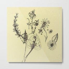 Flowers 2 Metal Print