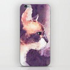 Cat Nick iPhone & iPod Skin