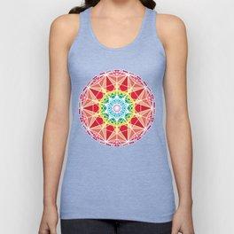 Organic Mandala ornament Unisex Tank Top