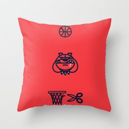 Year of the Bulldog Throw Pillow