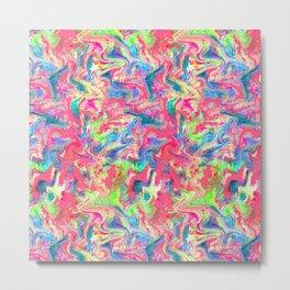My Pink Marble Metal Print