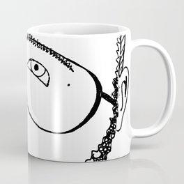 Somewhere Over the Beard Coffee Mug