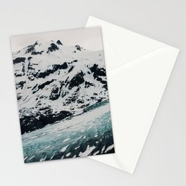 Exit glacier Stationery Cards