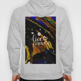 Love Valentines day abstract gift Hoody