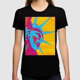 Pop Art Patriotic Liberty T-shirt