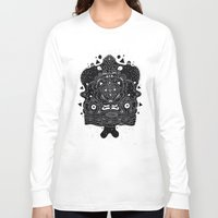 meat Long Sleeve T-shirts featuring Meat Popsicle by Cosmic Nuggets