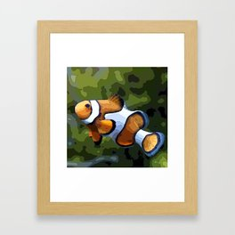 ClownFish20151011 Framed Art Print