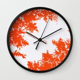 Night's Sky Persimmon Wall Clock