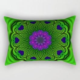 Queen of Heart Kalaeidoscope Rectangular Pillow