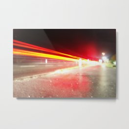Overexposed Metal Print