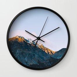 Dawn Mountain - Kenai Fjords National Park II Wall Clock
