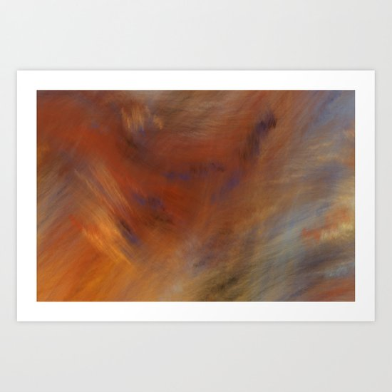 Storm in Space  (A7 B0230) Art Print