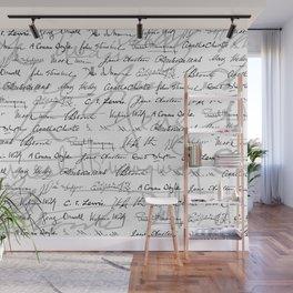 Literary Giants Pattern II Wall Mural