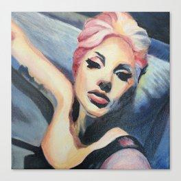 LadyGaga takes a Selfie Canvas Print