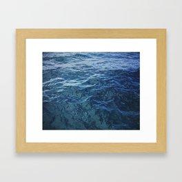 Florida Blues Framed Art Print