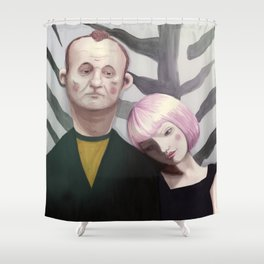 Lost in translation  Shower Curtain