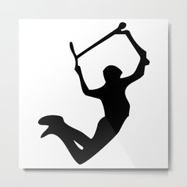 Scooter freestyle stunt Metal Print