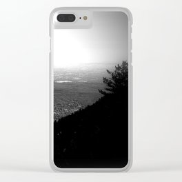 Dark City Clear iPhone Case