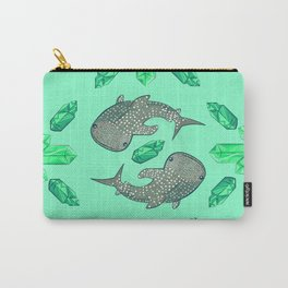Whaleshark Crystal Party Carry-All Pouch