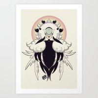 Shiny mother of fairies Art Print