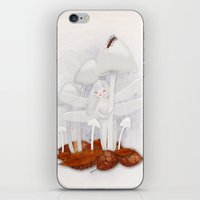 milk iPhone & iPod Skins featuring Milk by Tori Horner