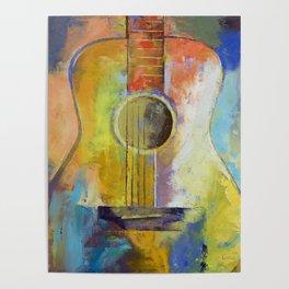 Guitar Melodies Poster