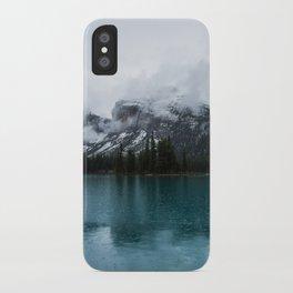 Smokey Mountains Landscape Photography Alberta iPhone Case