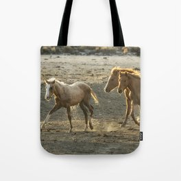 Sparked by Water Tote Bag