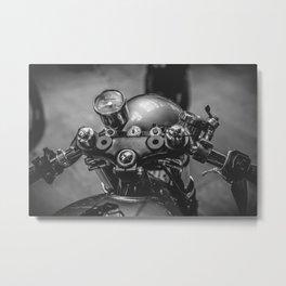 Bikehed BSMC London Metal Print