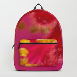 Macro Image Of A Big Pink Hibiscus Flower The Xandri Collection Backpack