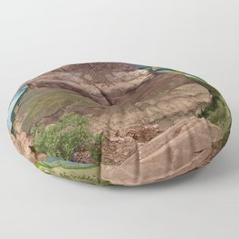 Rugged Bend Floor Pillow