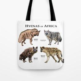 Hyenas of Africa Tote Bag