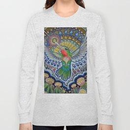 Hummingbird & Cactus - Beija Flor III Long Sleeve T-shirt