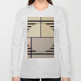 Toned Down - line graphic Long Sleeve T-shirt