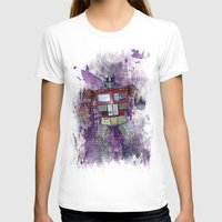 optimus prime T-shirts featuring G1 - Optimus Prime by DesignLawrence