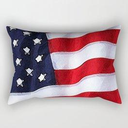 Patriotic Colorado Rectangular Pillow