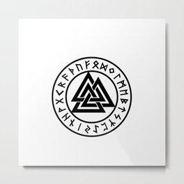 Amulet mystical Metal Print