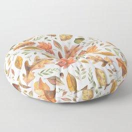Autumn/Fall Leaves Floor Pillow