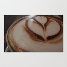 Hot Chocolate Flower Canvas Print