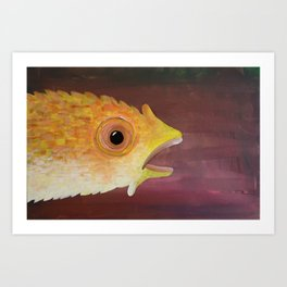 Fish 3: Blub Art Print