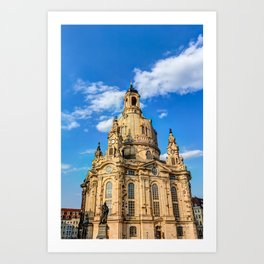 Church of our Lady in Dresden, Germany Art Print